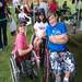 Eric and friends after a fun day of adaptive sports!