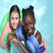 Sweet girls swimming during one of our summer camp field trips.