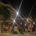 Downtown Gadsden at night.