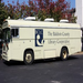 The Bookmobile, a 1997 Blue Bird, holds over 3,000 items including books, audio books and movies.