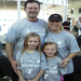 A fit family at the Dash-Spin-Dip Indoor Triathlon.