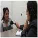 Uruguay-born Valeria Fernández interviews Mexican immigrant Sandra Figueroa in an Arizona jail for NRP's Making Contact