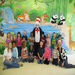 CSP Head Start students celebrating Dr. Seuss' Birthday