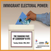 The forum on Immigrant Electoral Power is just one of many public programs sponsored by Feet in 2 Worlds at CNYC.