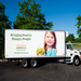 One of our 16 trucks picks up food from eastern Wisconsin donors to distribute it to people in need