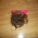 This is the approximate amount of hair Haleyann lost each day for a month.