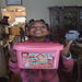 Imani's wish granted - Pink Legos!
