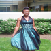 Nadia's wish granted: a very special graduation dress!
