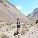 Day 2 of the walk to Aconcagua Base Camp