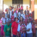 My parents with the kids and the directors/parents of the big orphanage family, Jean Claude & Ronise.