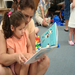 Playgroups and reading go together. Photo by the Center for Alexandria's Children