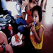 One of the cutest little girls I met in Nica eating a meal provided by OrphaNetwork!