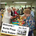 Burke Plaza hosted a soup supper to raise funds for a new van.