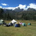 Here is one of our campsites. The scenery and climate were amazing!