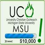 UCO MSU to raise $10,000 by the end of March!