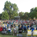 A Lincoln Municipal Band audience in Antelope Park