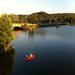 Kayaking on the Lake at North Park