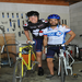 Tyce and Francis being pals in the campus bike shop