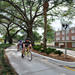 Riding down the Alabama Greenway in DeLand, FL / Stetson University