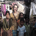 Charity founder Hemley Gonzalez with several of the sponsored children in Kolkata