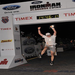 Celebrating the finish at my 2nd Ironman