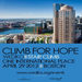 Help me help others by donating to the Climb for Hope.