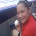 A Wish Granted: Haley catches the ball at a Phillies game!