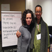 RG Staffer Nicole Lewis and Stosh Cotler from Jewish Funds for Justice co-lead our Next Gen Family Member Retreat