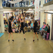 A free modern dance performance at the Torpedo Factory