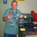 PRIDE Employee Chris shows off his loaner tool kit made possible by donations to PRIDE Industries Foundation