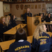 Students get real-life experience conducting meetings using parliamentary procedure.