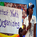 Youth organizing workshop at our drop-in center.