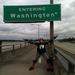 205 Bike Corridor entering Washington