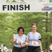 Ilene and Alicia crossing the Finish Line in 2011 after 13.11 miles!