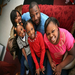 2NOT1 Founder Shawn Gardner with his daughters