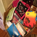 Box filled with supplies for the schools. Love the message on the spiral notebooks to DO SOMETHING!