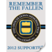 2012 ODMP Supporter decal