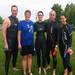 some members of the triathlon training team