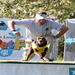 Steve Mize and Willow doing Speed Retrieve, Pet Fest, 2011