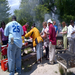 Connections' staff and clients at our annual Memorial Day Cookout!
