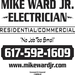 Thank you to our Sponsor - Mike Ward Electrician