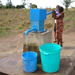Filling up with clean, safe water.