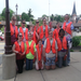 scouts helped with our downtown clean up