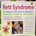 a little info about Rett Syndrome