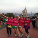 Some of last year's runners in front of Cinderella's Castle.