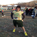 At the Jingle Bell Run 5K last November. I barely survived. How in the world will I make it through a marathon (42K)?