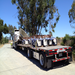 Bracewell Piers de-installed at Stanford and shipped to the VLA Visitor Center!