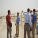 Pastors and staff from United Christian Church of Dubai and Redeemer surveying the land
