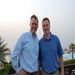 Pastor Josh with John Folmar, pastor of United Christian Church of Dubai