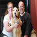 Comfort Dog Ladel, Katy and Pastor Kinne